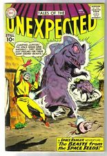 Tales of the Unexpected #60 Beasts from the Space Seeds! Dc Comic Book ~ Vg/Fn