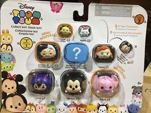 NEW, Disney Tsum Tsum Series 3 New 9 Figures Mickey Cruella Hiro Mystery & MORE!