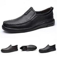 Men Driving Moccasins Shoes Work Slip on Comfy Business Breathable Soft Casual L