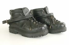 Ancienne paire de chaussures ski à lacets ou Télémark - Cuir - Très bon  état -