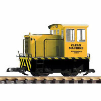 PIKO Clean Machine GE-25Ton Track Cleaning Locomotive G Gauge 38501