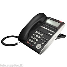 NEC DTL-6DE-1 BK TEL DT300 Phone DLE(6D)Z-(BK) Black Refurb **1 Year Warranty**