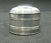 George III Solid SILVER Nutmeg Grater. Forrest & Wasdell Birm 1801 No Engravings