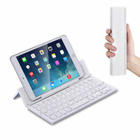 Tastatur für Apple iPad 10,2 QWERTY Bluetooth Tastatur F18 Weiß