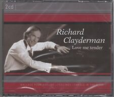 "Richard Clayderman ""Love Me Tender"" 2CD Set NEW & SEALED 1st Class Post From UK"