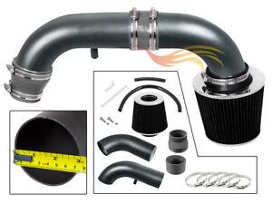 GREY RW Racing Air Intake +Filter For 1995-2000 Stratus/Cirrus/Breeze 2.0L 2.4L