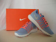 Authentic Nike Flex Fury 2 (GS) Women's Shoes Chalk Blue Size 5Y
