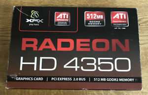 XFX Radeon HD 4350 - graphics card - 512mb - PCI Express - Not Tested