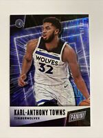 2019 KARL ANTHONY TOWNS PANINI FATHER'S DAY #27 Escher Squares #/10