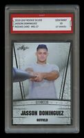 JASSON DOMINGUEZ (2020) 2019 LEAF SILVER 1ST GRADED 10 ROOKIE CARD RC NY YANKEES