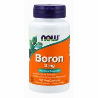 Boron 100 Caps 3 mg by Now Foods
