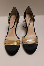 Women's Black CHERRY High Heel Shoes by VIOLET & RED Size 9 M