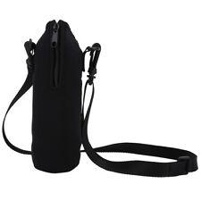 Insulated Neoprene Water Bottle Carrier Holder Bag Shoulder Strap Case 1000ML ZY