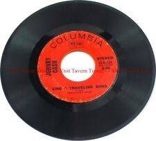 """Near Mint 1970 Johnny Cash - What Is Truth / Sing A Traveling Song 7"""" 45"""