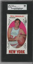 1969 Topps #43 BILL BRADLEY Mint SGC 96! Super tough pop=2 vs 14 PSA 9! $1800+