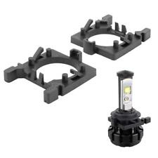2pcs H7 LED Headlight Bulb  Lamp Adapters Holders for Ford Focus Fiesta Mondeo