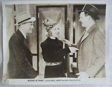 orig. Pressefoto/ still  1938  Blondes at Work  Glenda Farrell, Barton MacLane