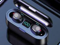 Bluetooth Earbuds Wireless Headphone Headset Noise Cancelling Waterproof 1