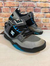 DC Shoes Stag 2 KB Ken Block Skateboard Shoes Black Blue Gray EUC Mens Size 8.5