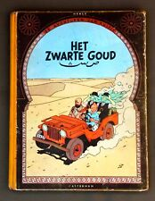 Kuifje - Het zwarte goud - hc - 1ste druk 1950
