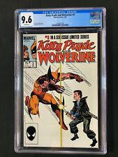 Kitty Pryde and Wolverine #3 CGC 9.6 (1985)