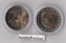 Monaco       2 Euro  2002   Prins Rainier    UNC  op voorraad / in stock
