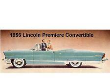 1956 Lincoln Premiere Convertible Auto Refrigerator / Tool Box  Magnet