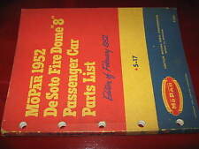 1952 De Soto ORIG Parts List Book_S17 Firedome Mod_Coupe_Sedan_Wagon_Convertible