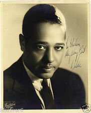 DUKE ELLINGTON Signed Photograph - Legendary Jazz Musician & Bandleader preprint