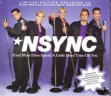 NSYNC Little LIVE & VIDEO &MIX USA CD Justin Timberlake