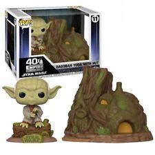 POP! Star Wars 40th - Dagobah Yoda with Hut