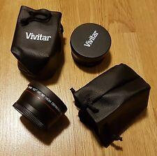 ∫∫ Vivitar ∫∫  2-Pcs HD Lens Kit Wide Angle & Telephoto Lens Set For Pentax K-S2