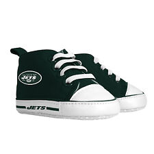 NY NEW YORK JETS NFL PRE-WALKER HIGHTOP BABY SHOES