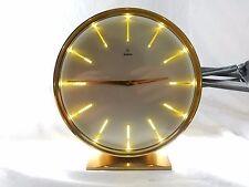 Schöne JUNGHANS Tischuhr desk clock Uhrmacher geprüft Stundenmarken durchsichtig