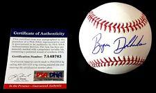 BRYSON DECHAMBEAU SIGNED OFFICIAL MLB BASEBALL PSA/DNA IN THE PRESENCE COA