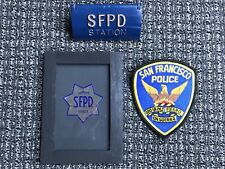 old SFPD Key Holder for the Gamewell San Francisco Police Call Box Patch & Badge