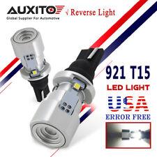 AUXITO 2x CANBUS T15 921 LED Bulb Reverse Backup Light White 912 LED Error Free
