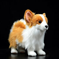 Realistic Simulation Pomeranian Dog Toy Doll Animal Model Ornament Kids Gifts