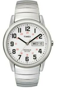 Timex Gents Easy Reader Indiglo Expander Watch T20461 NEW
