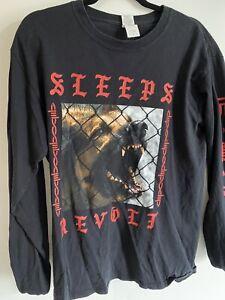 "While She Sleeps ""revolt"" Long Sleeve Shirt (M)"