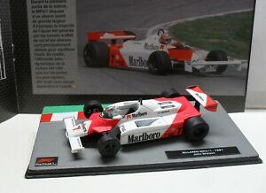 F1  MC LAREN  MARLBORO   MP4/1 WATSON 1981   MODEL  IXO  1/43