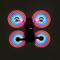 STARTRC 2 Pairs LED Flash Propeller Rechargeable for DJI Mavic Air Drone Props