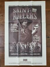 1996 PREACHER SAINT OF KILLERS COMIC PROMO POSTER 34X22 DC VERTIGO ENNIS FABRY