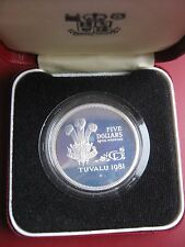 Tuvalu 1981 5$ .925 Silver 1 oz. Proof Coin Royal Wedding Boxed by Royal Mint
