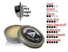 Every Knight Styling Wax/Balm Beard/Hair Grooming for Men: Unscented Made in USA