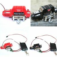 1:10 Simulation Metal Winch Controller Electric for RC4WD D90 SCX10 TRX-4 Car