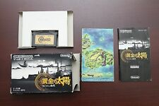 Game Boy Advance Golden Sun The Lost Age boxed Japan GameBoy GBA Game US Seller