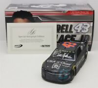 BUBBA WALLACE #43 2018 AUTOGRAPHED CLICK N CLOSE TEST CAR 1/24 NEW FREE SHIPPING