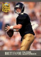 A0763 - 1991 Ultra #283 Brett Favre RC Packers Falcons Rookie Card NM-MT