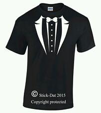 Tuxedo suit shirt beard hipster funny Aussie design and pressed Australian art